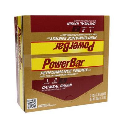 PowerBar Performance Energy Bars Oatmeal Raisin