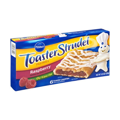 Pillsbury Toaster Strudel Raspberry Raspberry Toaster Pastries - 6 CT