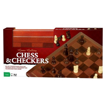 Cardinal Industries Game Gallery Wood Chess