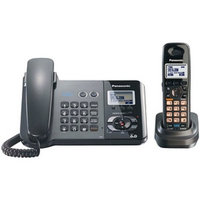 Panasonic Kx-Tg9391T Dect 6.0 Two-Line Corded/Cordless Phone Combo