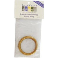 Diffuser Lamp Ring-Brass Aura Cacia 1 Ring