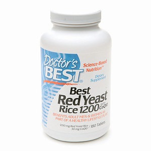 Doctor's Best Red Yeast Rice 1200 with CoQ10
