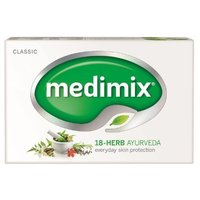 Medimix Ayurvedic Herbal Soap with 18 Herbs 125g Unit (Pack of 12)