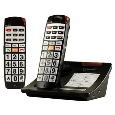 Serene Innovations CL65-BUNDLE Dect 6.0 Amplified Cordless Phone - Handset