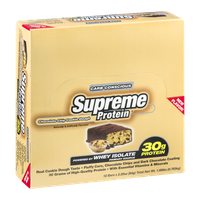 Supreme Protein Carb Conscious Protein Bars Chocolate Chip Cookie Dough - 12 CT