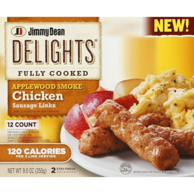 Jimmy Dean Applewood Smoked Chicken Sausage Links 9 oz