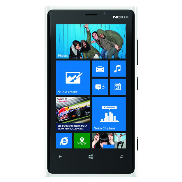 Nokia - Lumia 920 4G LTE Mobile Phone (Unlocked) - White