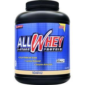 ALLMAX Nutrition ALLWHEY 3 Stage Whey Protein Matrix Vanilla - 5 lbs