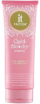 It Factor Quick Blowdry Shampoo - For Medium To Coarse Hair - 8.5 oz