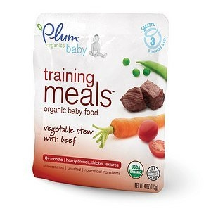 Plum Organics Baby Training Meals Organic Baby Food: Stage 3