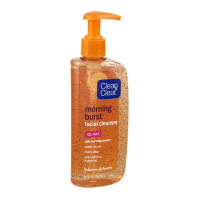 Clean & Clear Morning Burst Oil-Free Facial Cleanser