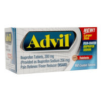 Advil Pain Reliever and Fever Reducer Tablets - 160 Count