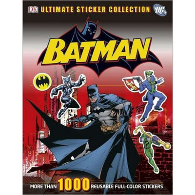 Batman Ultimate Sticker Collection by Dorling Kindersley Publishing