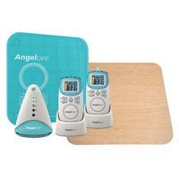Angelcare AC401-2P Deluxe Movement & Sound Monitor with Wood Support
