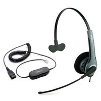 Jabra GN2010 Mono With GN1200 Cable Mono SoundTube Corded Headset
