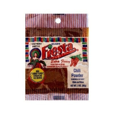 Fiesta Chili Powder Bag, 0.2-Ounce (Pack of 12)