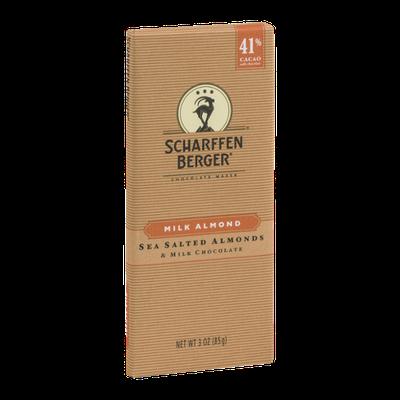 Scharffen Berger Salted Almonds & Milk Chocolate 41% Cacao