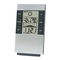 GGI International Digital Desktop Alarm Clock and Weather Station