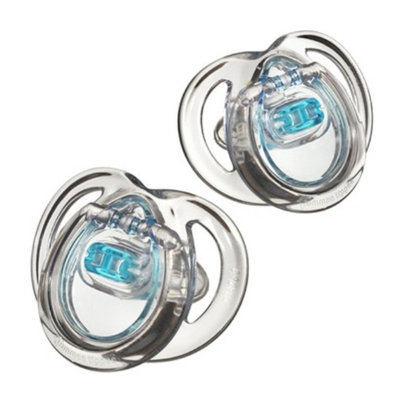 Tommee Tippee Closer To Nature Boy Pacifier (2pk) - 0-6M
