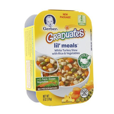 Gerber Graduates Lil Meals Turkey Stew with Rice & Vegetables