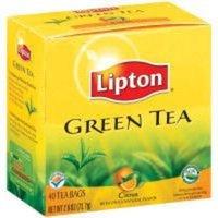 Lipton Green Tea, Citrus, 40 bags