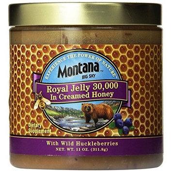 Montana Big Sky Rj Creamed Honey, 11 Ounce