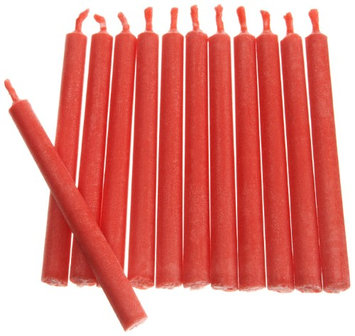 Wilton RED COLOR FLAME CANDLES Birthday Party Cake Fun