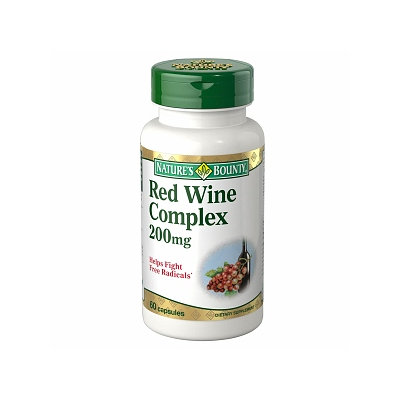 Nature's Bounty Resveratrol Red Wine Extract 200mg