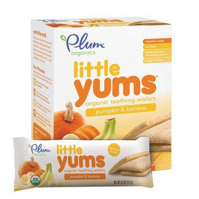 Plum Organics Baby Little Yums Organic Teething Wafers Pumpkin Banana