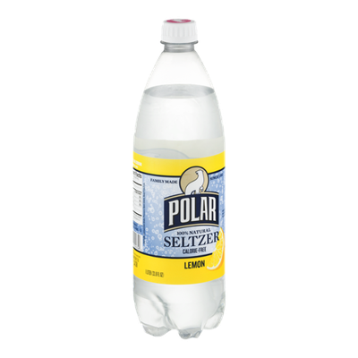 Polar Seltzer Calorie-free Lemon