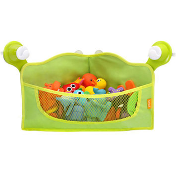 Brica BRICA Corner Bath Basket Toy Organizer - Green