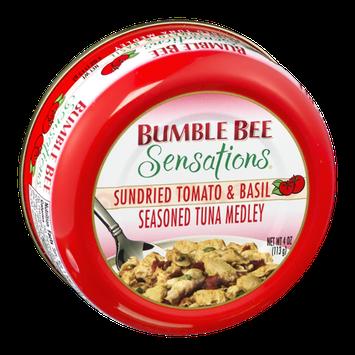 Bumble Bee Sensations Sundried Tomato & Basil Seasoned Tuna Medley
