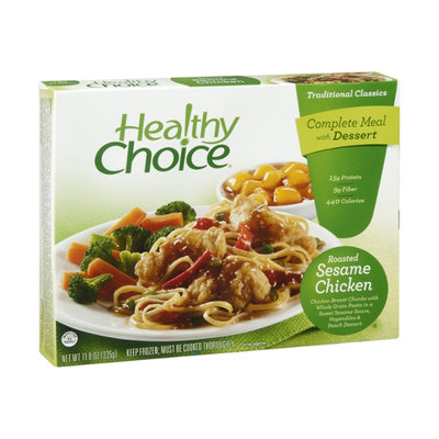 Healthy Choice Traditional Classics Roasted Sesame Chicken Complete Meal
