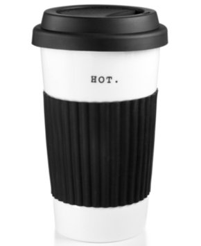 The Cellar Whiteware Words Travel Mug