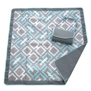 JJ Cole Essentials Blanket, Gray Link