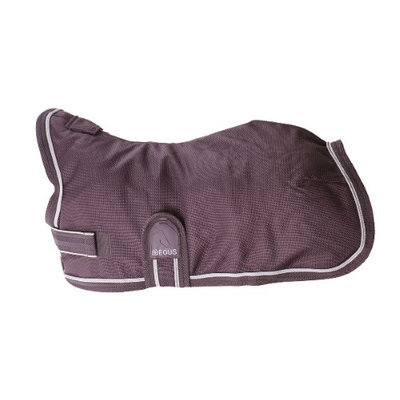 EOUS High Neck Winter Dog Blanket XX-Small Chocolate