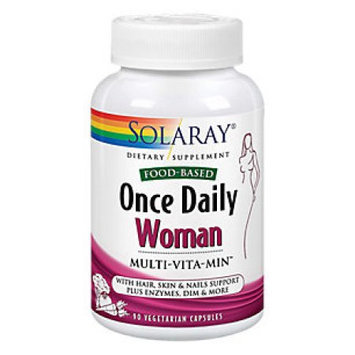 Solaray - Once Daily Woman Multivitamin - 90 Vegetarian Capsules