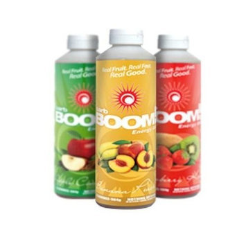 Carb-BOOM carb BOOM Energy Gel 24 Serving Bottle - Grape Pomegranate