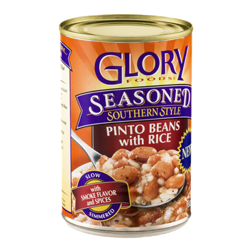 Glory Foods Seasoned Southern Style Pinto Beans with Rice