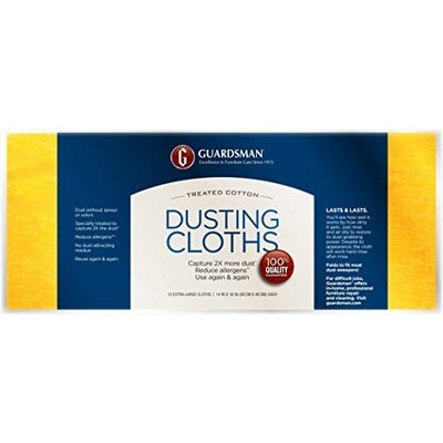 Guardsman 462500 Ultimate Dusting Cloth 12-CT Cloth Pack