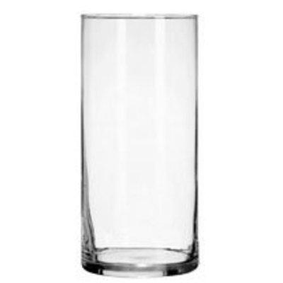 Greenbrier Decorative 7 1/4-inch Glass Cylinder Vase