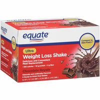 Equate Chocolate Royale Ultra Weight Loss Shakes