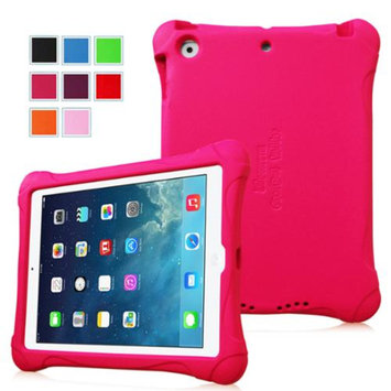 Fintie Kiddie Case - Ultra Light Weight Shock Proof Kids Friendly Cover for iPad Air (iPad 5 5th Generation), Magenta