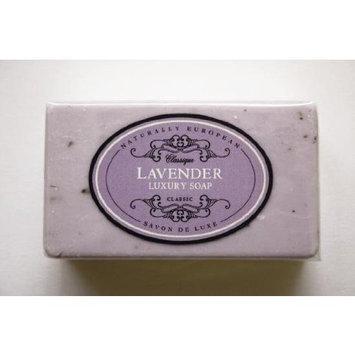 Naturally European Lavender Classic Luxury Soap, 230 Ml / 8 Oz SINGLE BAR