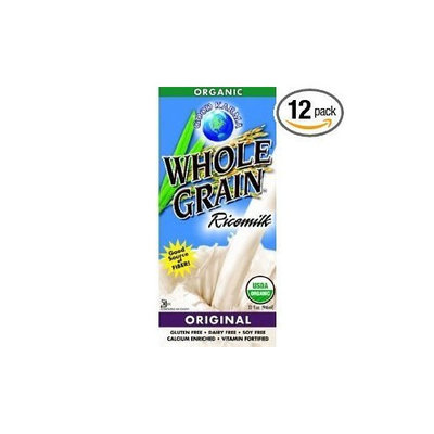 Good Karma Whole Grain Rice Milk, Unsweetened Flavor, 32-Ounce (Pack of 12)