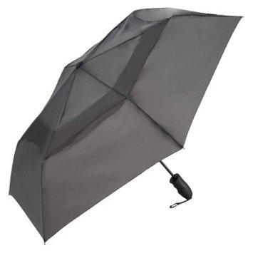 ShedRain Windjammer Auto Open/Close Vented Umbrella - Charcoal 43