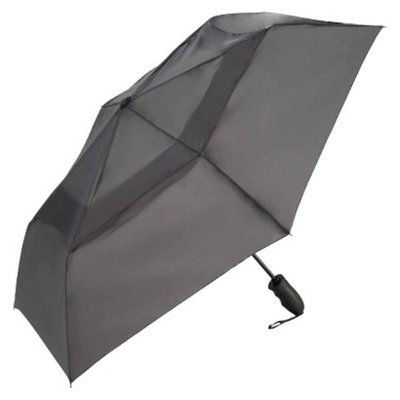 ShedRain Windjammer Auto Open/Close Vented Umbrella - Charcoal 43