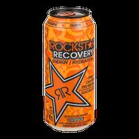 Rockstar Recovery Energy Drink Orange