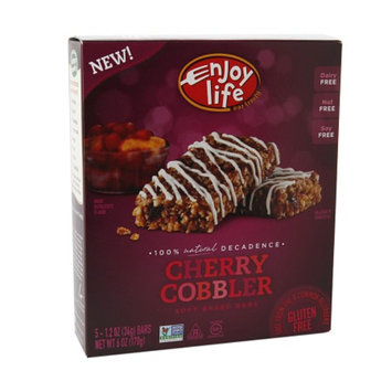Enjoy Life Soft Baked Decadent Bars, Cherry Cobbler, 5 ea