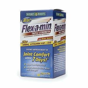 Flex-A-Min Triple Strength Glucosamine Chondroitin Formula